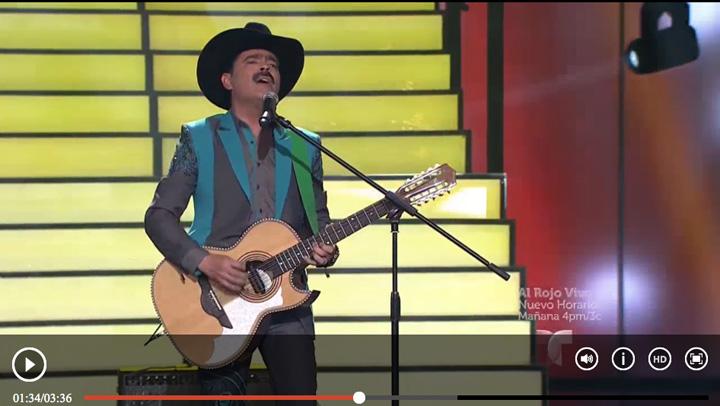 """Los Tucanes de Tijuana perform with H. Jimenez Bajo on """"El Artista"""""""
