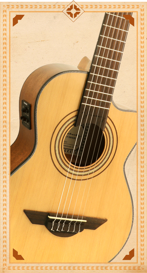 LG3CE Artista Guitar
